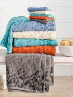 PECOS SCULPTED BATH TOWEL