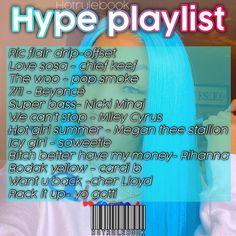 Rap Playlist, Party Playlist, Music Mood, New Music, Beyonce, Rihanna, Icy Girl, Hot Song, Song Recommendations