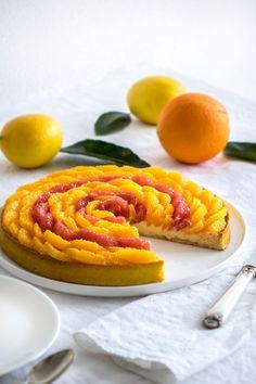 La recette de la tarte aux agrumes