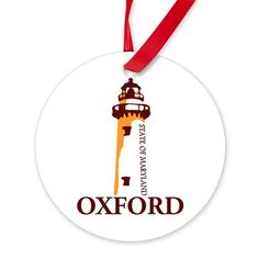Oxford MD. Ornament on CafePress.com