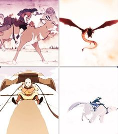The Legend of Korra/ Avatar the Last Airbender: the avatar animals