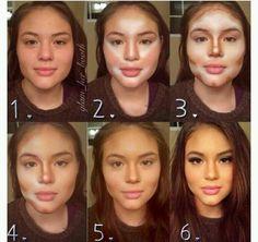 Como afinar el rostro.