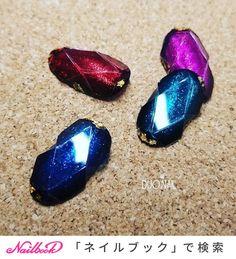 オールシーズン/ブライダル/パーティー/ハンド/ワンカラー - bsduoのネイルデザイン[No.3750594]|ネイルブック Nail Jewels, Japanese Nail Art, Jam And Jelly, Gorgeous Nails, Jewel Nails, My Nails, How To Make, Design, Gemstones