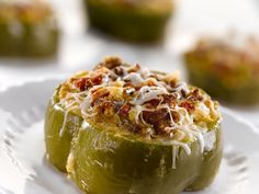 Cornbread Stuffed Bell Pepper Rings – National Cornbread Finalist Recipe! | Southern Plate  These are great! Just use Jif corn bread mix and 86 the japs for the kiddos. Also used low fat milk instead of buttermilk.