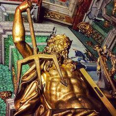 Roman God Neptune. Museu Militar de Lisboa. #statue #art #culture / #Lisboa #Portugal