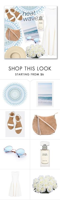 """heat wave"" by emina-la ❤ liked on Polyvore featuring Pottery Barn, Jimmy Choo, Ralph Lauren, ADAM and heatwave"