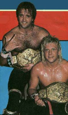 Ricky Morton and Robert Gibson (The Rock N' Roll Express)