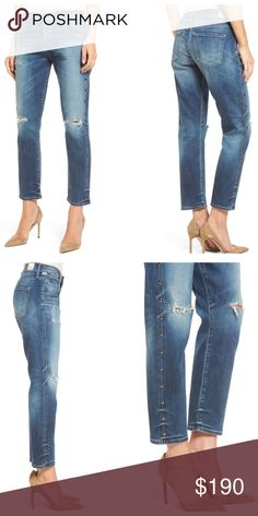 51386953e0413 Citizens Of Humanity Emerson Slim Boyfriend Jeans Slouchy yet slim, these  ripped high-waist