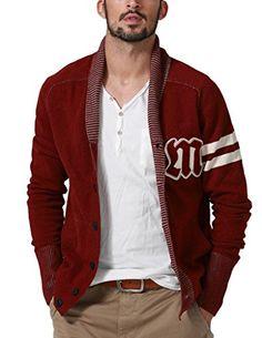 Match Men's Sweater Series Shawl Collar Cardigan(US M (Tag size XL),Purplish red) Match http://www.amazon.com/dp/B00PPTCHPW/ref=cm_sw_r_pi_dp_SvL5ub0XR7VR2