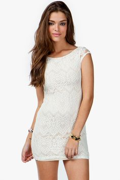 Dolly Lace Bodycon Dress