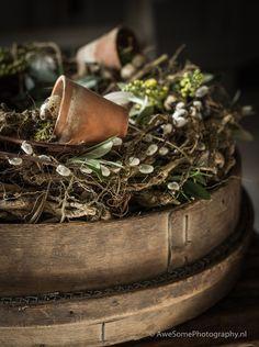 🌟Tante S!fr@ loves this📌🌟Wreath Rustic Christmas, Winter Christmas, Christmas Wreaths, Rustic French Country, Spring Photos, Hoppy Easter, Nature Decor, How To Make Wreaths, Wabi Sabi