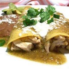 Enchiladas Verdes food-and-drink