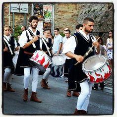 I tamburi della società dello stivale di Filottrano - Foto di @gerva85