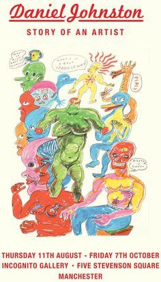 Daniel Johnston, Comic Books, Comics, Artist, Fictional Characters, Artists, Cartoons, Cartoons, Fantasy Characters