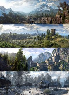 Witcher 3 Panoramas! | A4GN