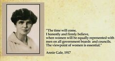 The City of Calgary is marking the first Gender Equality Week by honouring its first woman on council, Annie Gale, elected 101 years ago, and promising change. Levels Of Government, House Of Commons, Political System, Civil Rights, Calgary, Annie, Equality, Cities, Empire