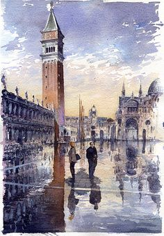 San Marco, Venice by Tony Belobrajdic