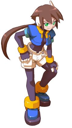 Aile from Mega Man ZX Advent