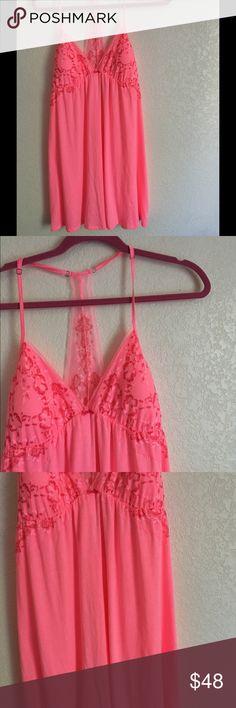 Victoria's Secret Sleepwear Pink,L size, so soft,with Lace Victoria's Secret Intimates & Sleepwear Shapewear
