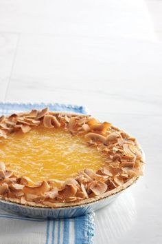 """Piña Colada Cheesecake and yep, I'll be singing """"if you like pina coladas and getting caught in the rain..."""" for the rest of the day!!! Anyone with me?"""