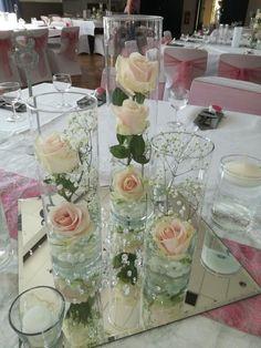 Tischdeko Hochzeit - #Hochzeit #Tischdeko