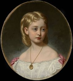 """Princess Victoria of Wales (1868-1935)"", George Koberwein, 1872(?); Royal Collection Trust 403861"