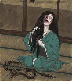 A-Yokai-A-Day: Oiwa (The Ghost Story of Yotsuya)