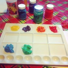 Homemade Finger Paint | Small Town Living in Nevada