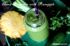 Pineapple Smoothie Recipe That Will Make You Smile! Plus How to Fix a Smoothie That You Don't Love   Quick & Easy Healthy Recipes!