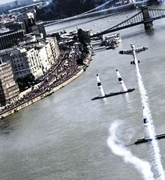 Great Race III Air Show in the heart of Budapest on the of May. Air Show, Budapest, Racing, Sport, Auto Racing, Lace, Sports