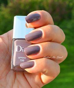 Dior Nail Polish, Dior Nails, Nail Polish Collection, Hairstyles Haircuts, Spring Nails, Fun Nails, Tom Ford, Swatch, Lily
