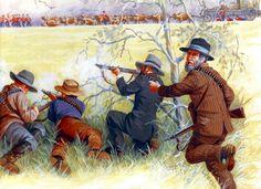 Boer ambush at Bronkhorstspruit