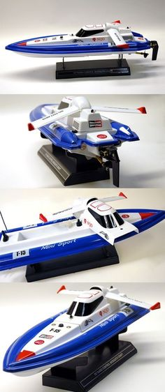 Remote-Controlled Toys 84912: Mini Tracer White Remote Control Toy Boat 17 In. Super Fast 380 Racing Motor -> BUY IT NOW ONLY: $34.99 on eBay!
