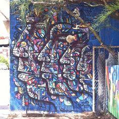 east austin // texas // 11th street // murals: faces