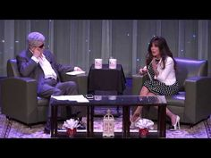 Conversations With Norm - 7/1/17 - Marie Osmond - Check out red vases and flowers in the coffee table in front!