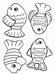 Free creation coloring page – fish Make your world more colorful with free printable coloring pages from italks. Our free coloring pages for adults and kids. Fish Coloring Page, Coloring For Kids, Coloring Pages For Kids, Printable Coloring Pages, Summer Crafts, Crafts For Kids, Creation Coloring Pages, Fish Clipart, Fish Template