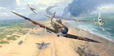 SpitfiresoverDunkirk1200logo