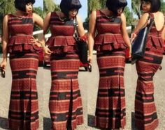 Unique Ankara Skirt and Blouse Styles for Beautiful Styles.Unique Ankara Skirt and Blouse Styles for Beautiful Styles African Print Dresses, African Dresses For Women, African Attire, African Wear, African Fashion Dresses, African Women, African Prints, African Inspired Fashion, African Print Fashion