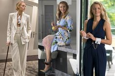 A Simple Favor: Blake Lively's Most Jaw-Dropping Fashion Moments, Explained — Vanity Fair Urban Fashion Women, Womens Fashion For Work, Girl Fashion, Fashion Hats, Fashion Edgy, Winter Fashion Outfits, Women's Fashion Dresses, Blake Lively Outfits, Devil Wears Prada