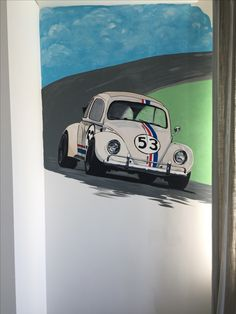 Wall painting Herby