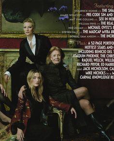 Avril 2001 - Cate Blanchett, Kate Winslet, Vanessa Redgrave, Chloë Sevigny, Sophia Loren et Penélope Cruz by Annie Leibovitz