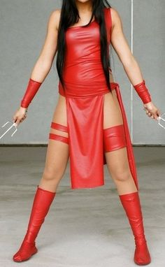 Elektra Cosplay Costume