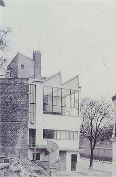 Le Corbusier. Maison Ozenfant. Avenue Reille. Paris, France. 1922
