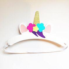 Corona unicornio / / sombrero del partido / / corona unicornio