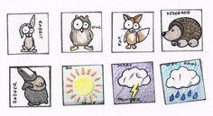 lovely sketched inchies - fab style :)