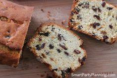 Smart Party Planning - Partys, Rezepte und Ausdrucke - Miller is Home Fruit Loaf Recipe, Loaf Recipes, Easy Cake Recipes, Dessert Recipes, Cooking Recipes, Desserts, Mixed Fruit, Perfect Food, Afternoon Tea