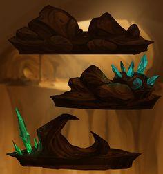 Mountain Sub Background-Boh on Behance