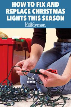 Fix Christmas Lights, Christmas Light Tester, Xmas Tree Lights, Christmas Hacks, Holiday Lights, 1st Christmas, Christmas Decorations, Online Buying, Traditional Lighting