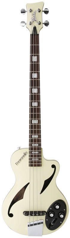 Italia Guitars Maranello Z Bass White