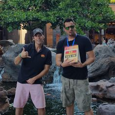 Day 1 of broadcasting is in the books! We can't wait to talk to you again tomorrow morning live from Disney's Aulani Resort in Hawaii! #GrahamInTheMornings #GoCountry105 #Disney #disneyaulani #countrytakingovertheisland